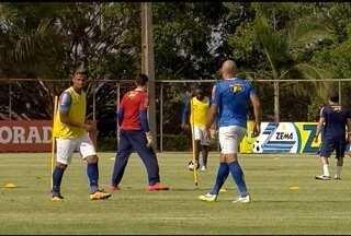 Cruzeiro vai ter mudanças no jogo contra o Tupi - Dupla de zaga será formada por Dedé e Manuel.