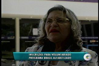 Abertas as inscrições para voluntariado do Programa Brasil Alfabetizado - As vagas são para alfabetizadores, coordenadores de turmas, tradutores e intérpretes de Libras.