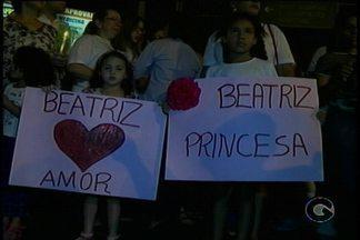 Protesto cobra solução de crime no dia em que Beatriz faria aniversário - Beatriz Angélica foi morta a facadas em escola de Petrolina, Sertão de PE.