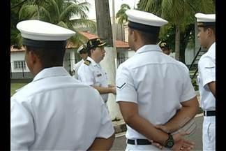 'Dia D' de combate ao mosquito da dengue conta com a ajuda das Forças Armadas, em Belém - Em Belém, homens da Marinha receberam treinamento no IV Distrito Naval nesta sexta-feira (12).
