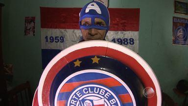 A identidade do Capitão América do Bahia - Confira o outro lado da vida do herói tricolor.