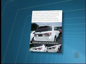 Ministério Público investiga denúncias contra vereador de Paulicéia - Denúncias apontam que ele usou placas da Câmara em um carro particular.
