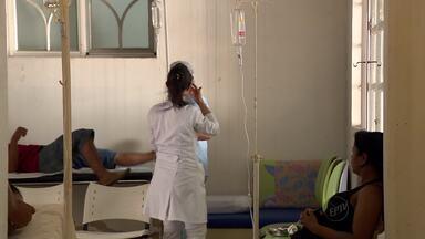 Mais de 250 procuram ajuda com sintomas de vômito e diarreia em Machado (MG) - Mais de 250 procuram ajuda com sintomas de vômito e diarreia em Machado (MG)