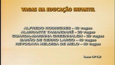 Vagas estão disponíveis para educação infantil em escolas estaduais de Rio Grande, RS - Veja quais instituições públicas na cidade oferecem vagas para alunos.