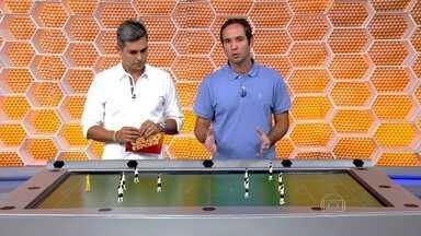 Caio usa a mesa tática para analisar Corinthians e São Paulo antes do clássico - Comentarista falou dos dois times