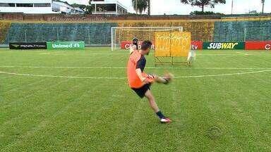 Jogando em casa, Ypiranga-ERE quer repetir 'bucha' do Beira-Rio - Danilinho, autor do gol, tentou repetir o feito.