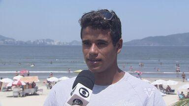 Surfista Marcos Corrêa segue em busca do sonho de disputar o WSL - O atleta pretende ser o primeiro representante de São Vicente na elite do surfe mundial.