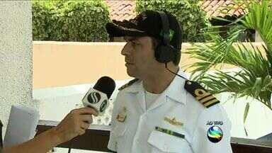 Militares da Marinha de Aracaju abraçam campanha de combate ao mosquito Aedes aegypti - Militares da Marinha de Aracaju abraçam campanha de combate ao mosquito Aedes aegypti.