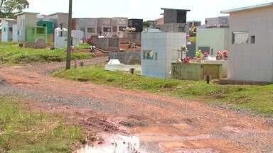 Maioria dos cemitérios em Guarapuava não tem licença ambiental pra operar - Sem estrutura, cemitérios contaminam cursos d'água