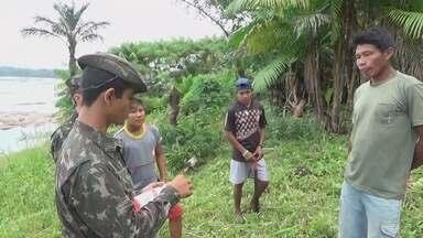 Ação de combate ao Aedes é realizada no interior do AM - Municípios receberam Exército em ação de combate.