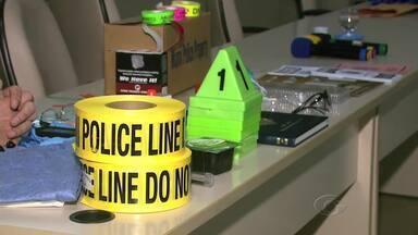 Policiais americanos dão treinamento à polícia de Alagoas - Os policiais americanos encontram-se em Maceió para ministrar um curso de investigação criminal.