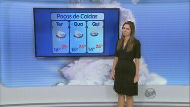 Confira a previsão do tempo para esta terça-feira (23) no Sul de Minas - Confira a previsão do tempo para esta terça-feira (23) no Sul de Minas