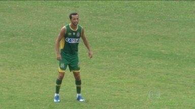 Vasco se prepara para o desafio de enfrentar o Friburguense sem Nenê - O jogador está suspenso, pois levou o 3º cartão amarelo no jogo contra o Tigres.