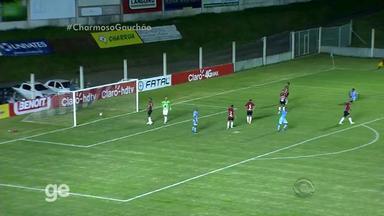 Gol de Erik - Lajeadense 1x1 Brasil de Pelotas - 5ª rodada - Assista ao vídeo.