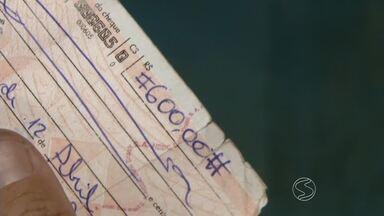 Pesquisa mostra que cheques sem fundos cresce no Brasil - De acordo com o Serasa, o percentual de cheques sem fundos em janeiro atingiu o maior patamar da inadimplência nos últimos 25 anos.