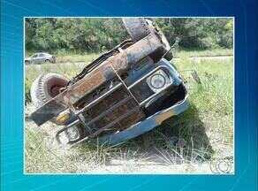 Caminhoneiro morre após perder o controle do veículo na TO-020 - Caminhoneiro morre após perder o controle do veículo na TO-020