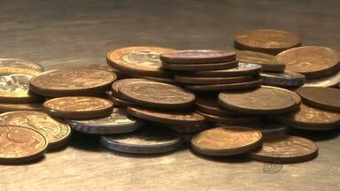 Falta de moedas no mercado preocupa comerciantes em Santarém - A falta de circulação de moedas na cidade dificulta o troco no comércio.