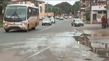 Motoristas e moradores do bairro Anil, em São Luís reclamam da falta de sinalização - Problema de sinalização causa longos congestionamentos no local.