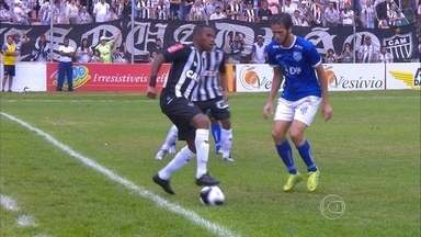 Apesar de derrota para a URT, Robinho mostra otimismo com evolução no Atlético-MG - Apesar de derrota para a URT, Robinho mostra otimismo com evolução no Atlético-MG