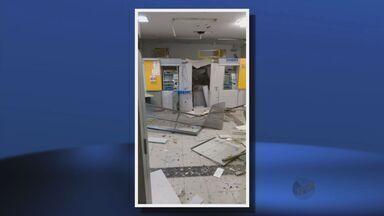Criminosos explodem caixas eletrônicos em São Pedro da União (MG) - Criminosos explodem caixas eletrônicos em São Pedro da União (MG)