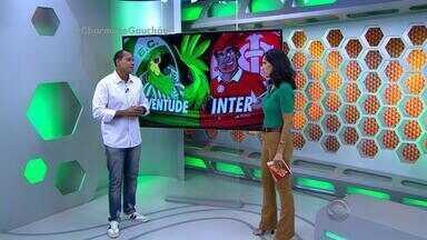Márcio Chagas comenta gol anulado do Inter contra o Juventude - Para o comentarista, gol foi legal, porém muito difícil de avaliar.