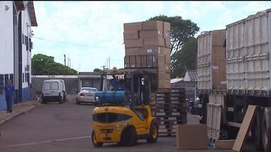 PRF apreende quase um milhão de maços de cigarro - Apreensões foram em Guaíra, Quatro Pontes e Lindoeste.