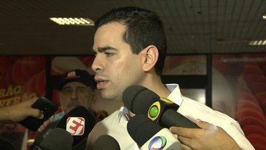 Goleado em amistoso nos EUA, Bahia volta a Salvador e presidente fala sobre o jogo - Os jogadores e comissão técnica não comentaram o resultado contra o Orlando City.