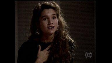 Relembre o início da carreira de Flávia Alessandra - Domingão resgata cenas do primeiro trabalho da atriz na TV na novela 'Top Model'
