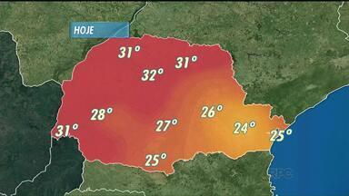 Previsão do tempo - Curitiba terá máxima de 24 graus nesta terça. No Norte, termômetros vão passar dos 30 graus. Nas praias faz 25°.
