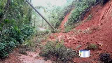 Estradas rurais estão com problemas em São José dos Campos - As imagens vieram pelo aplicativo Vanguarda Repórter.