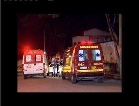 Mulher morre atropelada por caminhão em Contagem - Atropelamento foi por volta das 3h da madrugada.