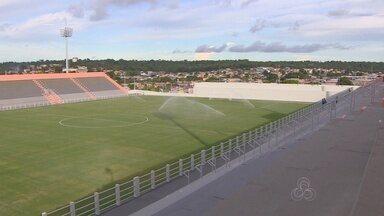 Jogo entre Nacional e Santos é transferido da Arena da Amazônia para a Colina - Estádio amazonense não tinha laudo e teve pedido rejeitado pela CBF.