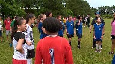 Esporte Clube Pelotas revela atletas para a Seleção Brasileira de Futebol Feminino - Meninas têm o sonho de jogar na Seleção.