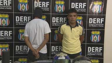 Polícia prende quadrilha especializada em roubo de carros em Manaus - Um policial militar também foi preso.