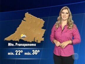 Débora Andreatto antecipa a previsão do tempo para esta quarta-feira - Confira como ficam as temperaturas na região.