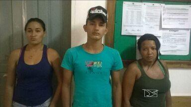 Três pessoas são presas suspeitas de tráfico de drogas em Açailândia, MA - Três pessoas foram presas suspeitas de tráfico de drogas em Açailândia (MA).