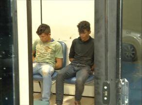 Dois suspeitos de praticar roubos são presos na capital - Dois suspeitos de praticar roubos são presos na capital
