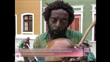 Naná Vasconcelos morre aos 71 anos, no Recife - O percussionista ganhou o prêmio Grammy por oito vezes. Em parceria, o grupo japonês Kodo e o Calcinha Preta tocam 'Asa Branca' em homenagem ao músico