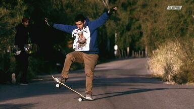 Perrengue Com A Kombi E Skate Na Estrada