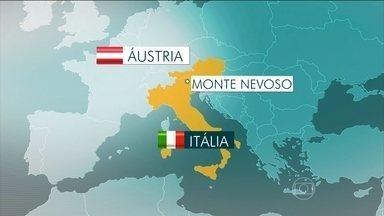 Avalanche nos alpes da Itália mata seis alpinistas - A avalanche foi a três mil metros de altitude, nos alpes, perto da fronteira com a Áustria. Segundo os bombeiros, as operações de resgate ainda continuam.