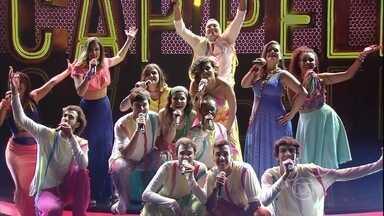 Subversos se apresenta com 'Pedras Que Cantam' - Grupo participa de semifinal do 'A Cappella'