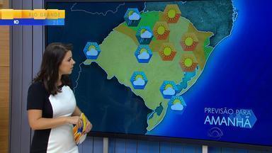 Tempo: sol e calor predominam no RS na quarta-feira (16) - Assista ao vídeo.