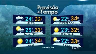 Veja como fica a previsão do tempo para esta terça-feira (15), no Maranhão - Veja como fica a previsão do tempo para esta terça-feira (15) no Maranhão.