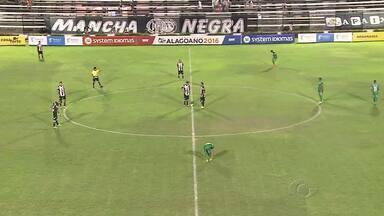 Coruripe e CRB se enfrentam no primeiro jogo do hexagonal - Jogo pela Copa do Nordeste acontece neste sábado.