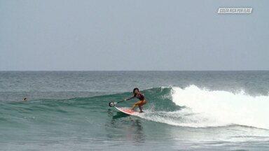 Surfe E Yoga Em Playa Negra