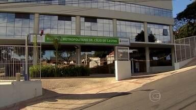 Mais de três meses após da inauguração, urgência do Hospital do Barreiro segue fechado - Hospital foi inaugurado com atraso de três anos, em dezembro de 2015.