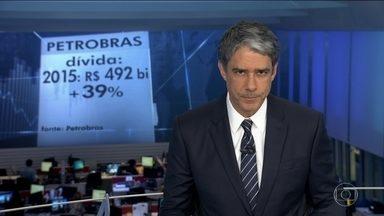 Petrobras registra prejuízo de R$ 35 bilhões em 2015 - É o pior resultado financeiro anual da campanha, superando até aquele prejuízo de R$ 21 bilhões de 2014, que incluía as perdas com corrupção apuradas pela Lava Jato.