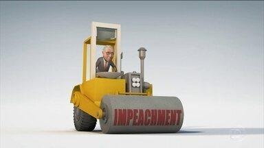 """Eduardo Cunha quer """"esmagar"""" o governo com o Impeachment - O presidente da Câmara resolveu passar por cima do governo com o seu rolo compressor do Impeachment. Até agora, está tudo bem com ele..."""