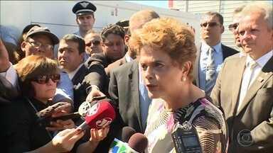 Ministros do STF dizem que impeachment é processo previsto na Constituição - Os ministros do STF reagiram às declarações da presidente de que o impeachment é tentativa de golpe. Eles disseram que o processo está previsto na Constituição.