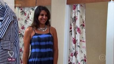 'Você Mais Poderosa': Luciana vai às compras e recebe dicas - Consultores auxiliam a psicopedagoga